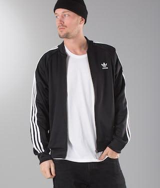 reputable site d273d 8cd33 Adidas Originals Superstar Track Top Sweater Black