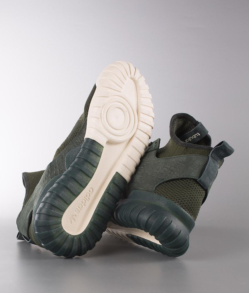 9722b01b623775 Adidas Originals Tubular X Primeknit Skor Shadow Green Shadow Green ...