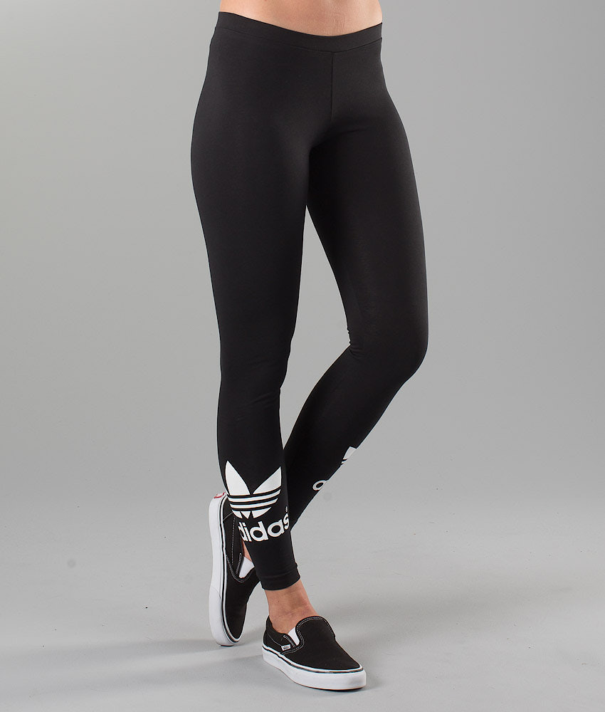 75587813c37 Adidas Originals Trefoil Leggings Black - Ridestore.com