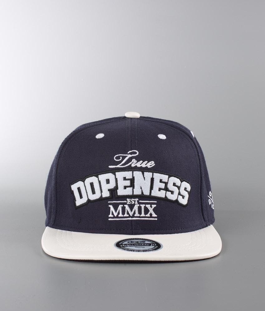 Dope Dopeness Lippis Marine White PU Black - Ridestore.fi c1c9c9b91f