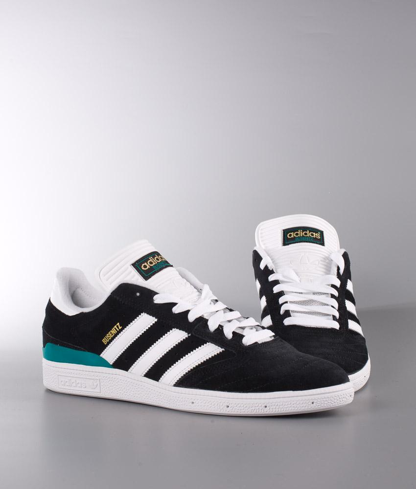 Adidas Originals Busenitz Schuhe Core BlackFtw WhiteEqt Green