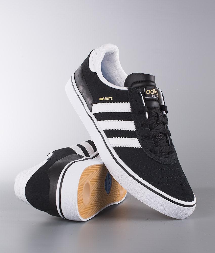 Adidas Skateboarding Busenitz Vulc Shoes Black1/Running White/Black1