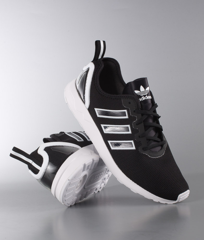 designer fashion febda ce024 Adidas Originals ZX Flux Adv Shoes Core Black/Core Black/Ftwr White
