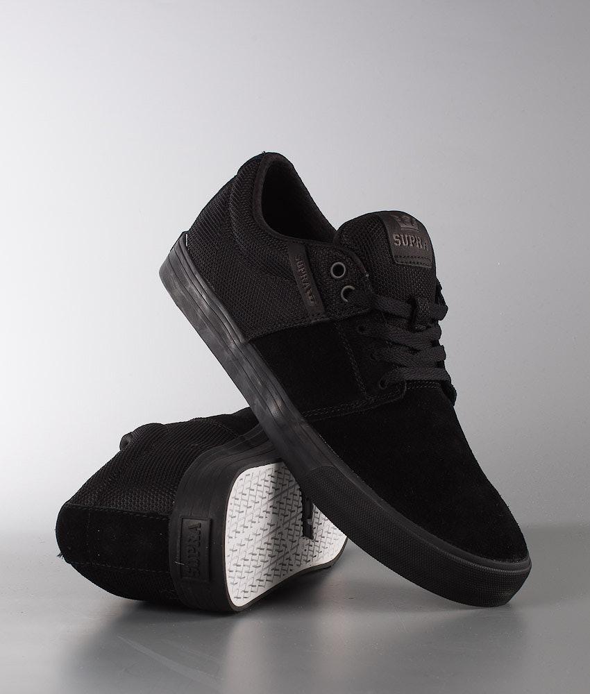 f78b4e75d45 Supra Stacks Vulc II Shoes Black Black-Black - Ridestore.com