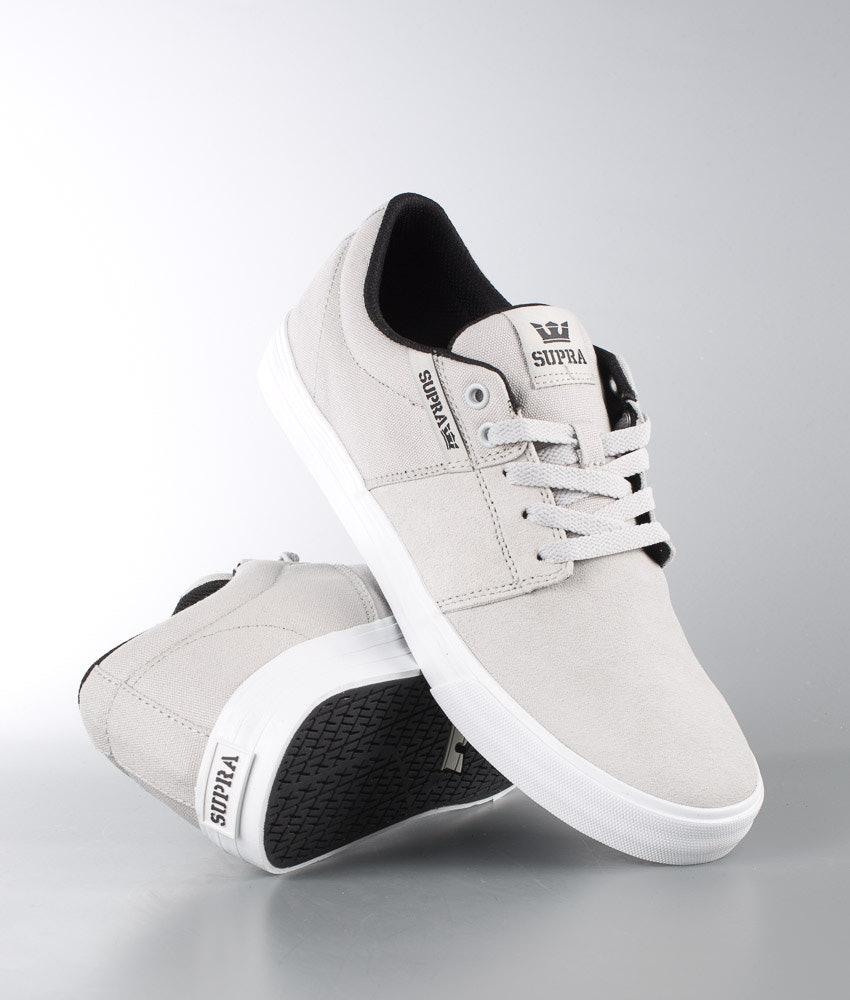 044a3f5c8b7 Supra Stacks Vulc II Shoes Light Grey - White - Ridestore.com