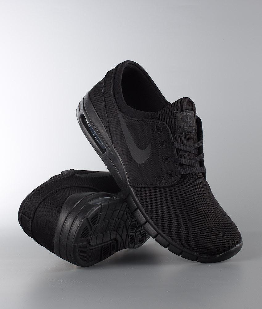 Nike Stefan Janoski Max Shoes Black Black-Anthracite-Black ... 066e7e75d
