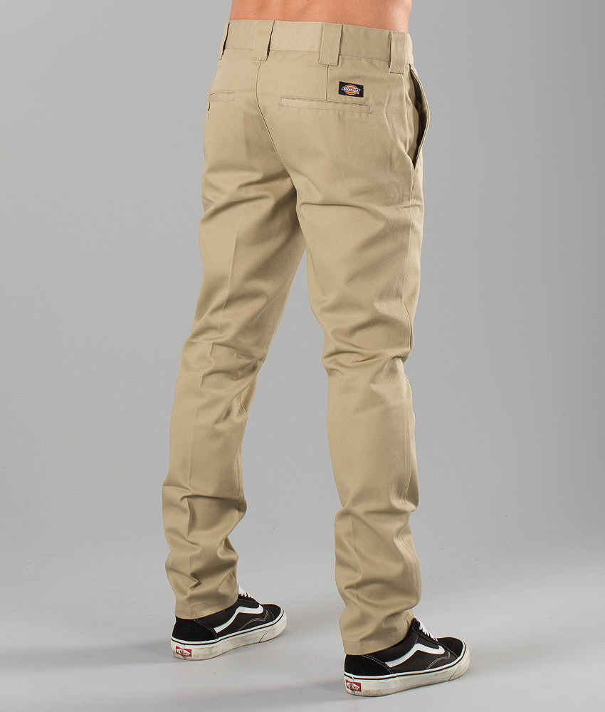 dc0821253fc Dickies Slim Fit Work Pant Pants Khaki - Ridestore.com