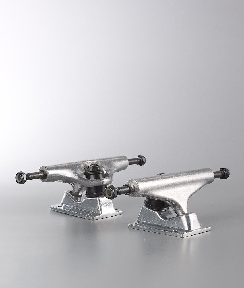 OEM 5.25 Skateboard Trucks Silver