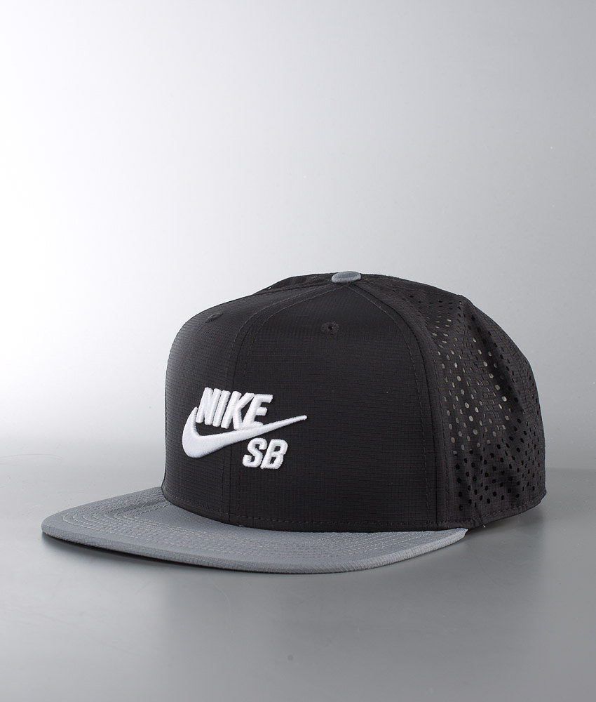 225a95a8bf5 Nike SB Performance Trucker Cap Black Cool Grey Black White ...