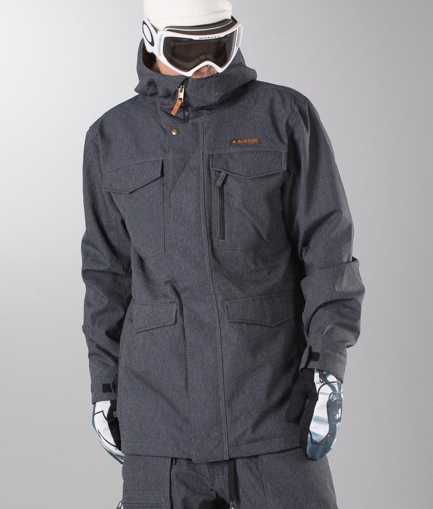 Covert Snowboard De Denim Burton Chez Veste gdpnFqFOw1