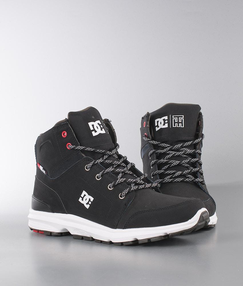 e12de10b9a7 DC Torstein Boot Shoes Black/White - Ridestore.com