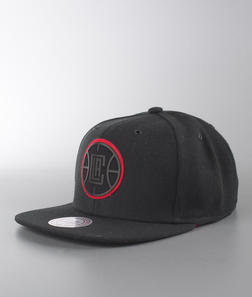 66fa17be727 Mitchell and Ness Filter- LA Clippers Cap Black - Ridestore.com