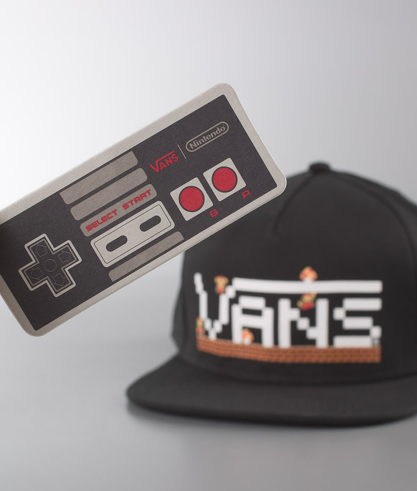 Vans NINTENDO X Vans Cap Mario - Ridestore.com 16828d2d8e7