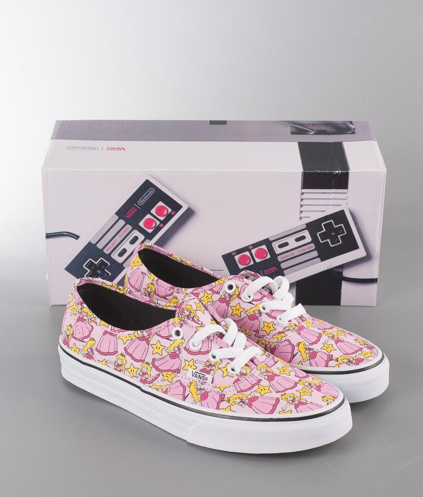 6e6ebcb9e2 Vans Authentic Shoes (NINTENDO) Princess Peach - Ridestore.com