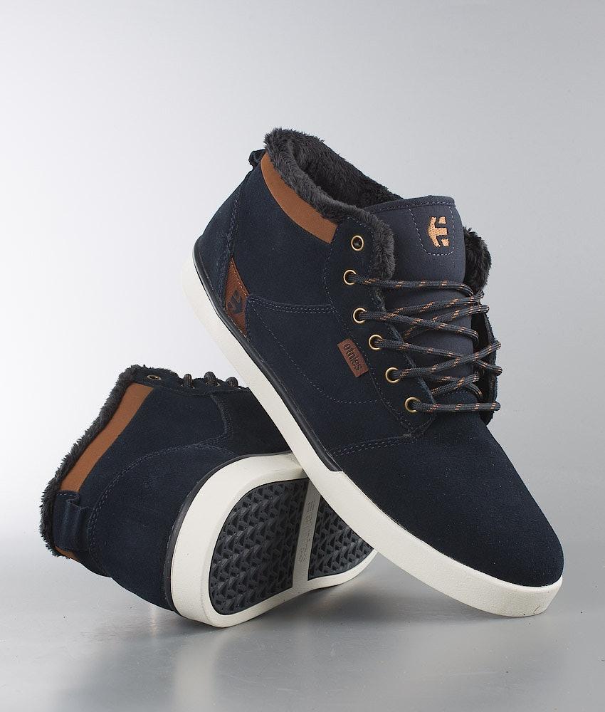 Etnies Jefferson Mid Schuhe Navy/Brown/White