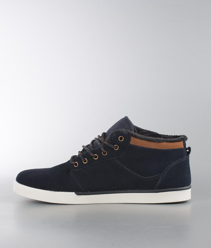 Jefferson Etnies De Chez Chaussures Navybrownwhite Mid rrdBw4qx