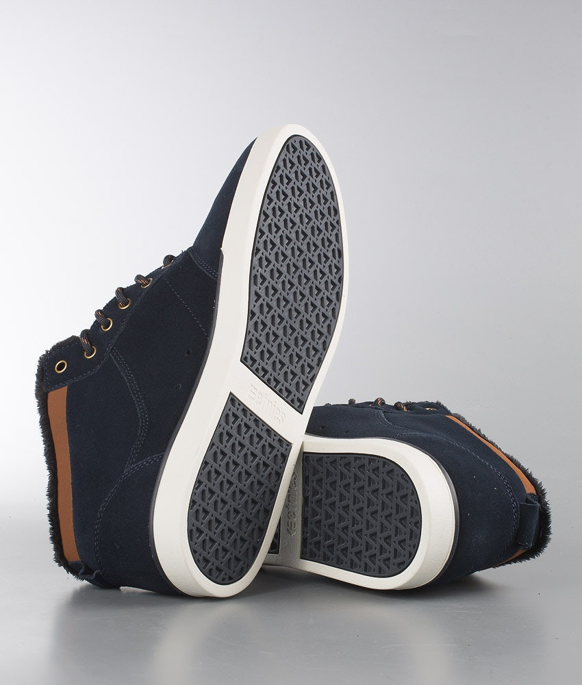 Etnies Jefferson Mid Chaussures Navy/Brown/White