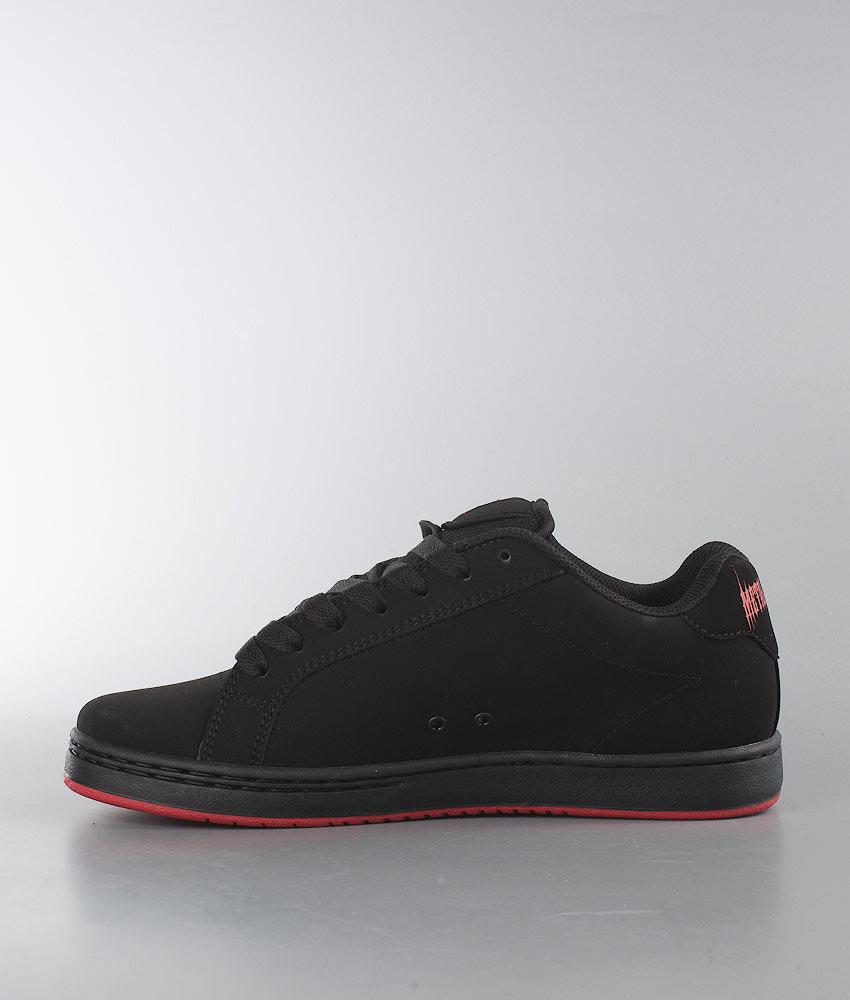 c289039d63f Etnies Metal Mulisha Fader Shoes Black/Black/Red - Ridestore.com