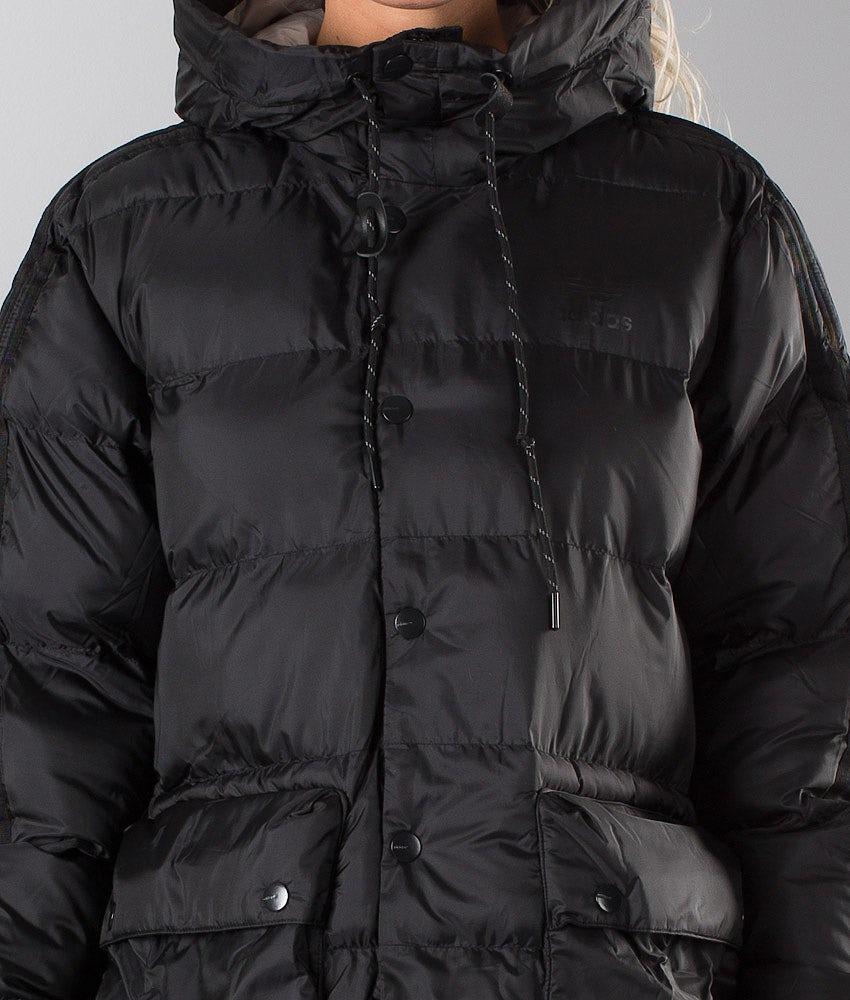 gatito periódico Bosque  Adidas Originals Padded Parka Unisex Jacket Black - Ridestore.com