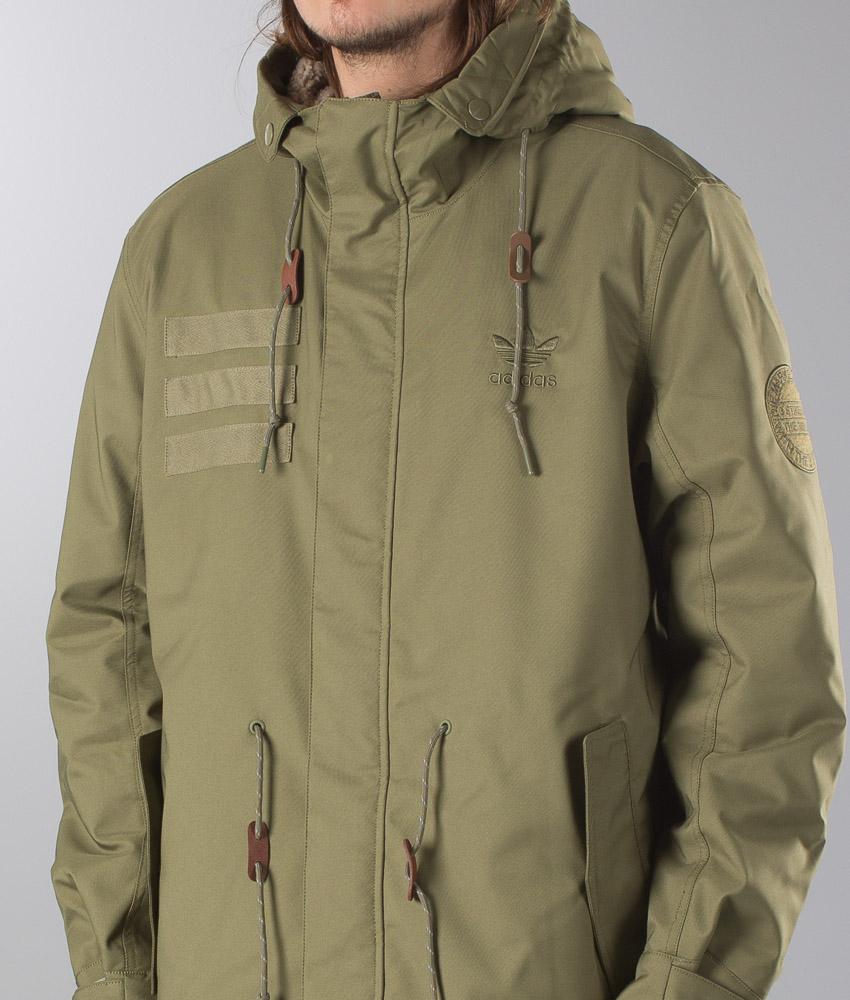 Originals it Giacca Adidas Parka Ridestore Fur Quilt Olicar dwxaFA