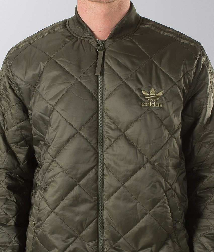 1efc3affa Adidas Originals Quilted Sst Jacket Ngtcar - Ridestore.com