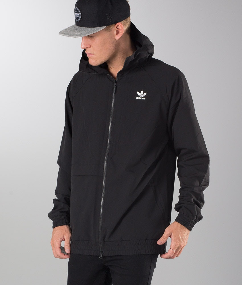 Adidas Originals Windbreaker Jacket Black Ridestore Com