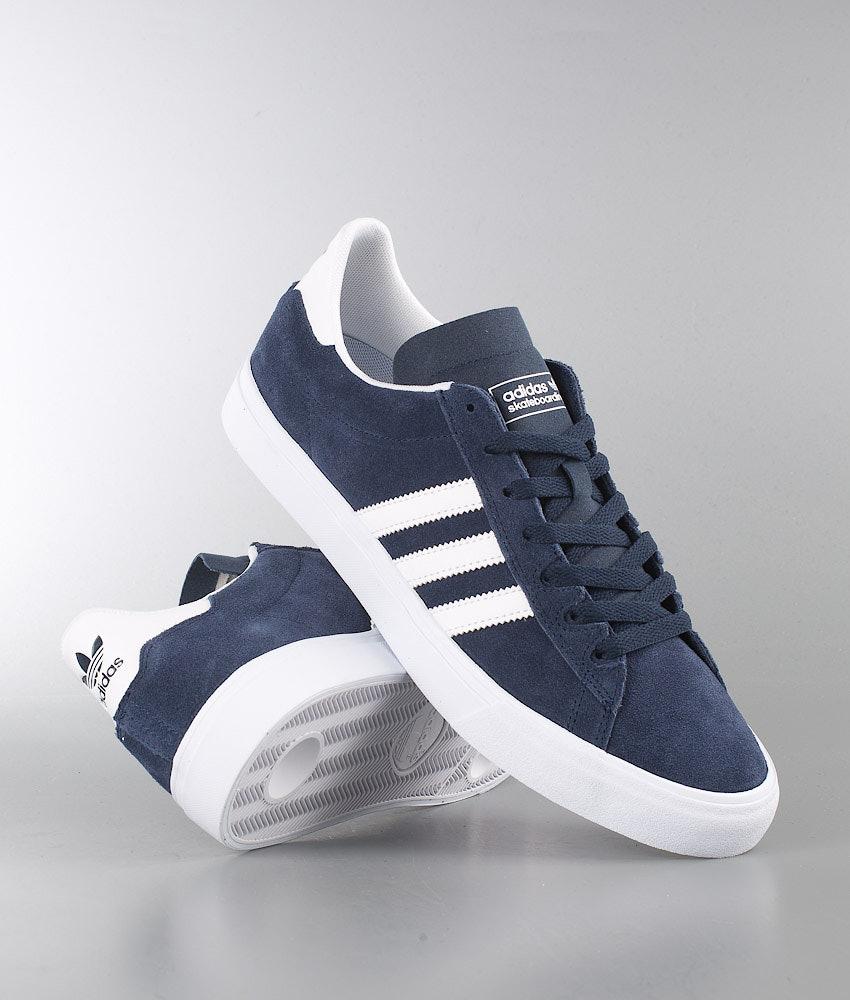 d736c829f Adidas Skateboarding Campus Vulc Ii Ad Shoes V Conavy Ftwwht Ftwwht ...