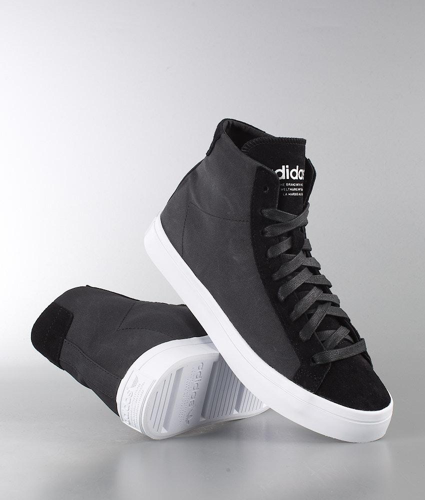 2366038d3450 Adidas Originals Courtvantage Mid Shoes W Cblack Cblack Ftwwht ...