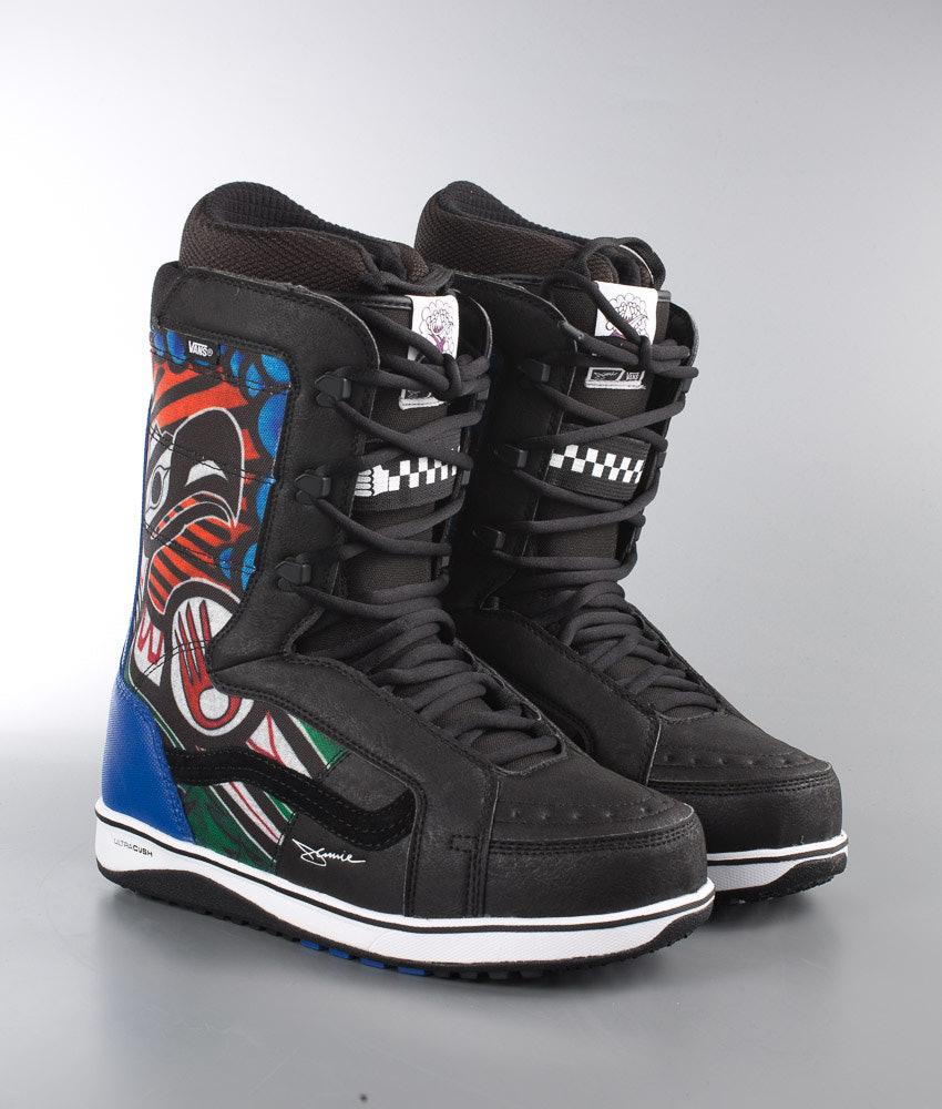 3d18cc1462 Vans V-66 Snowboard Boots (Jamie Lynn) Black Blue - Ridestore.com