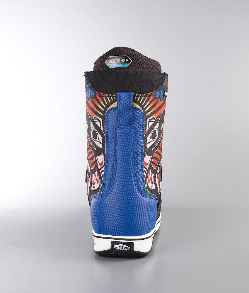ae7774d1c2c Vans V-66 Snowboard Boots (Jamie Lynn) Black Blue - Ridestore.com