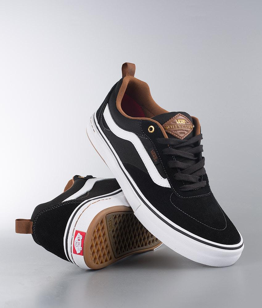 538f0b5f60 Vans Kyle Walker Pro Shoes Black White Gum - Ridestore.com