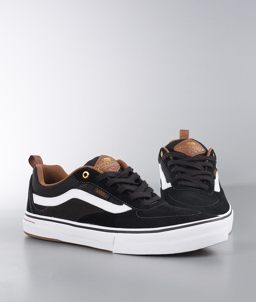 09c1e53b895bea Vans Kyle Walker Pro Shoes Black White Gum - Ridestore.com