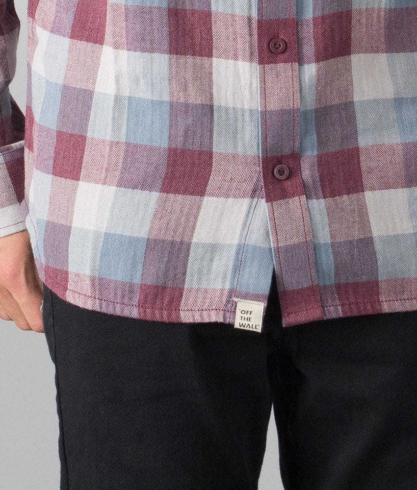 4acf32339c Vans Alameda Shirt Port Royale Blue Mirage - Ridestore.com