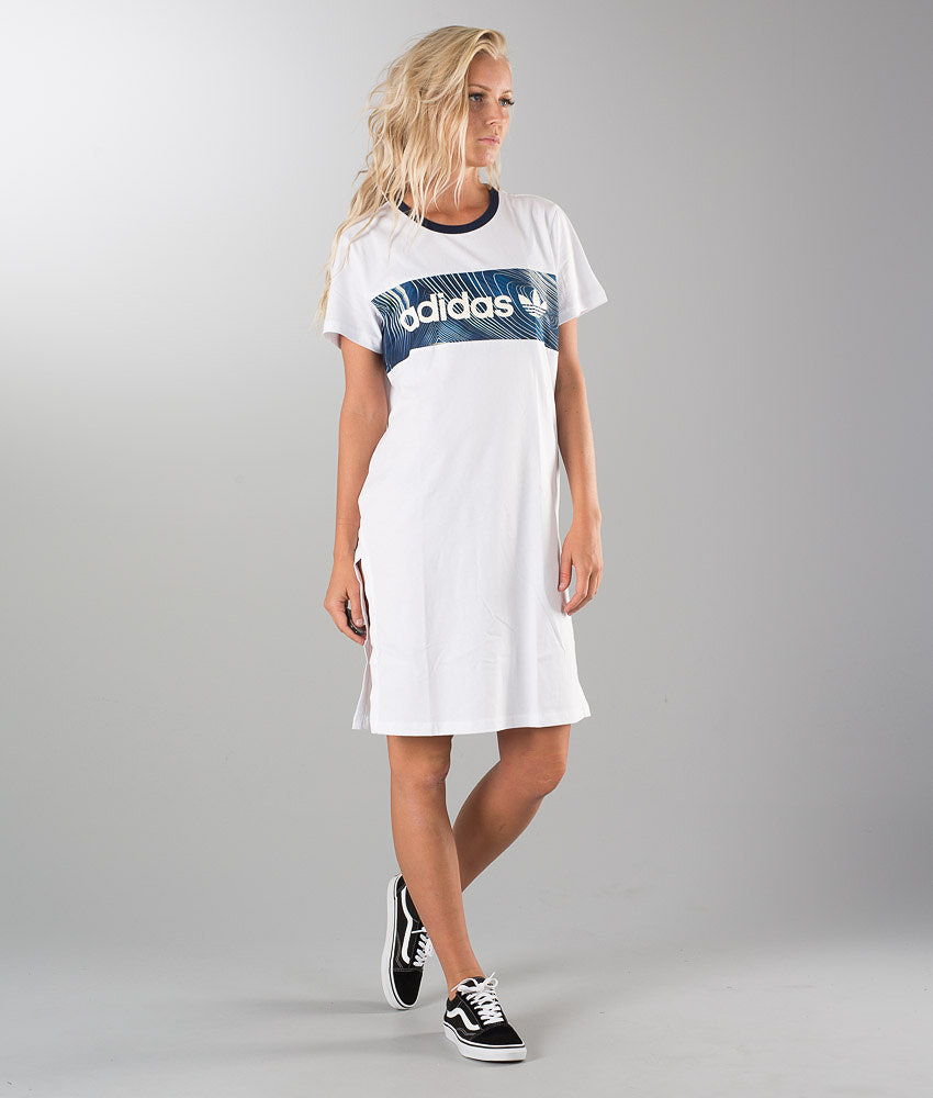 ff9a16550 Adidas Originals Bg Bf Tee Dress White - Ridestore.com