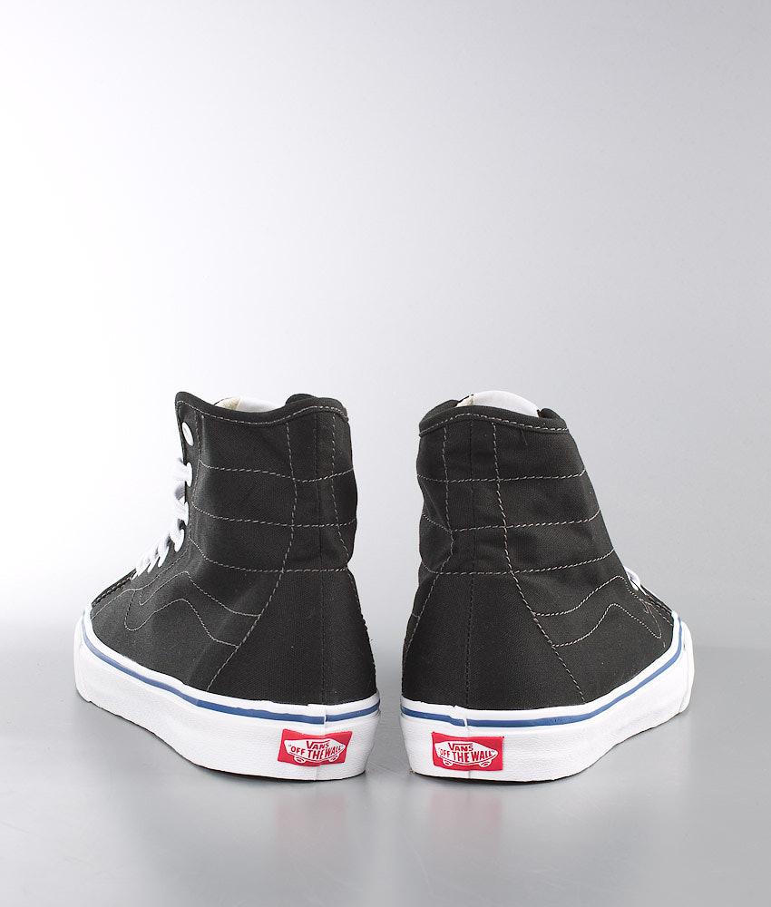 70736cccb4 Vans SK8-Hi Decon Shoes (Canvas) Black True White - Ridestore.com