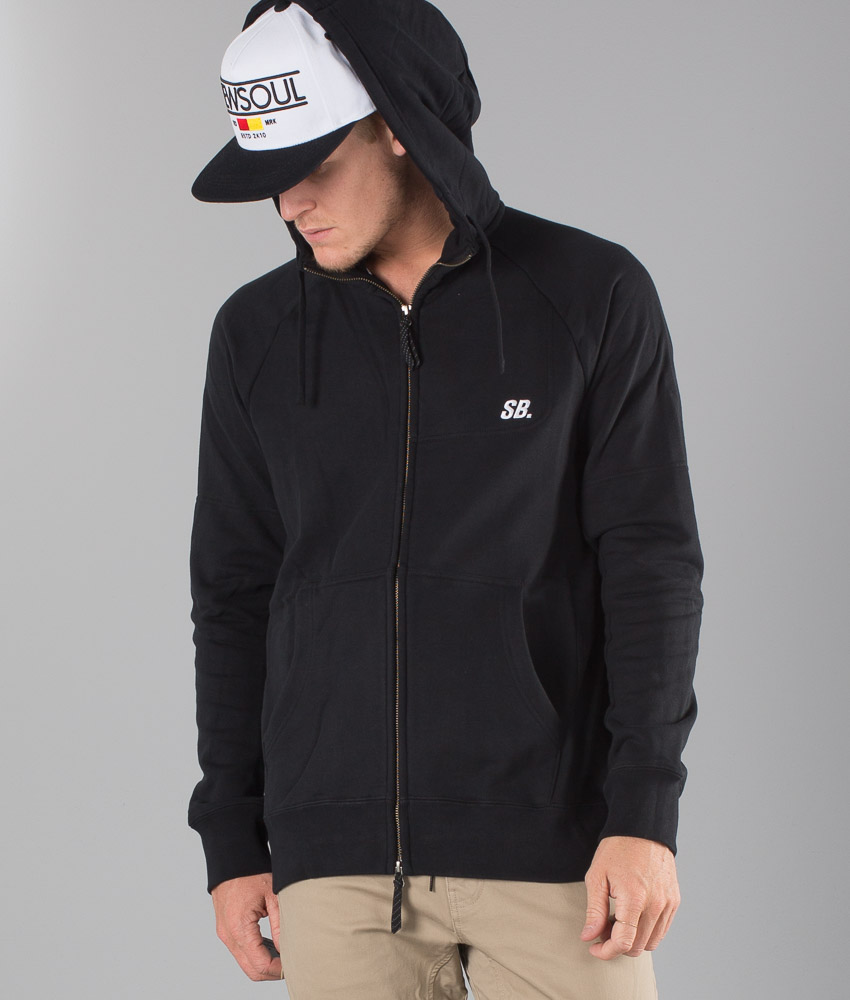 Nike Everett Graphic Hood BlackWhite Ridestore.no