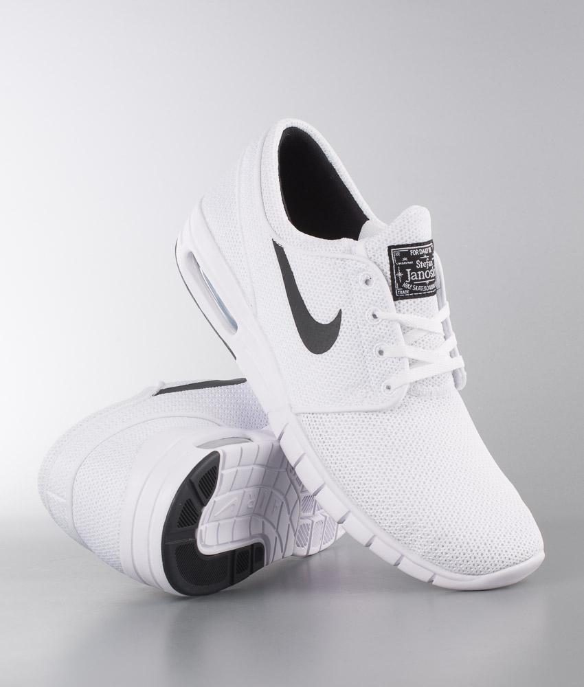 Nike Stefan Janoski Max Schuhe WhiteBlack