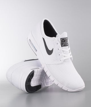 outlet buy popular on wholesale Nike Stefan Janoski Max Shoes White/Black