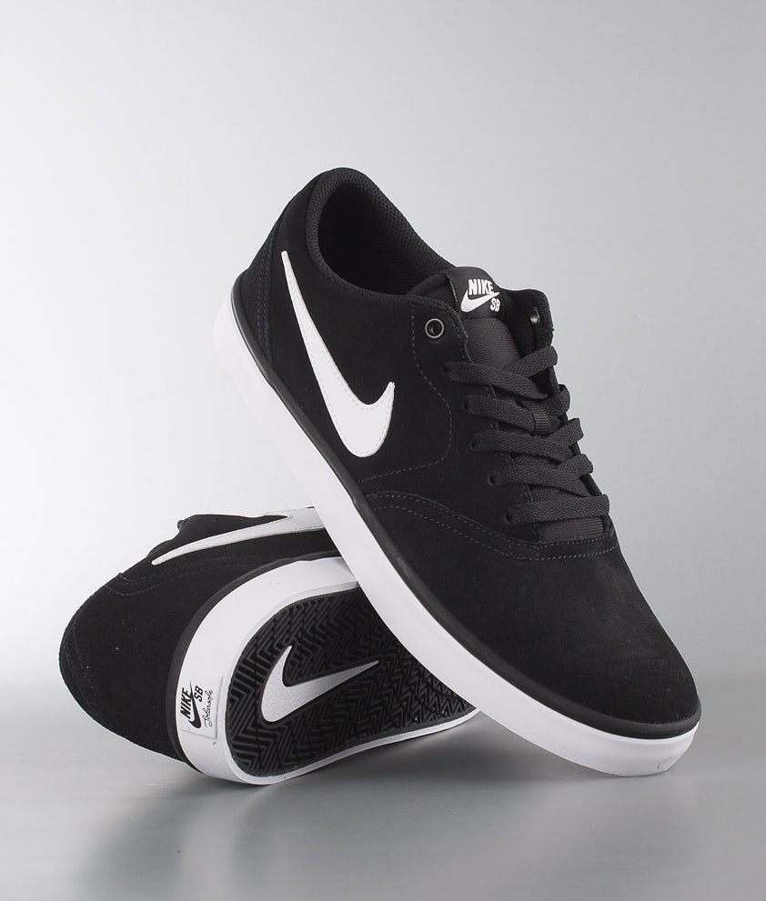 Nike Check Solar Sko Black/White