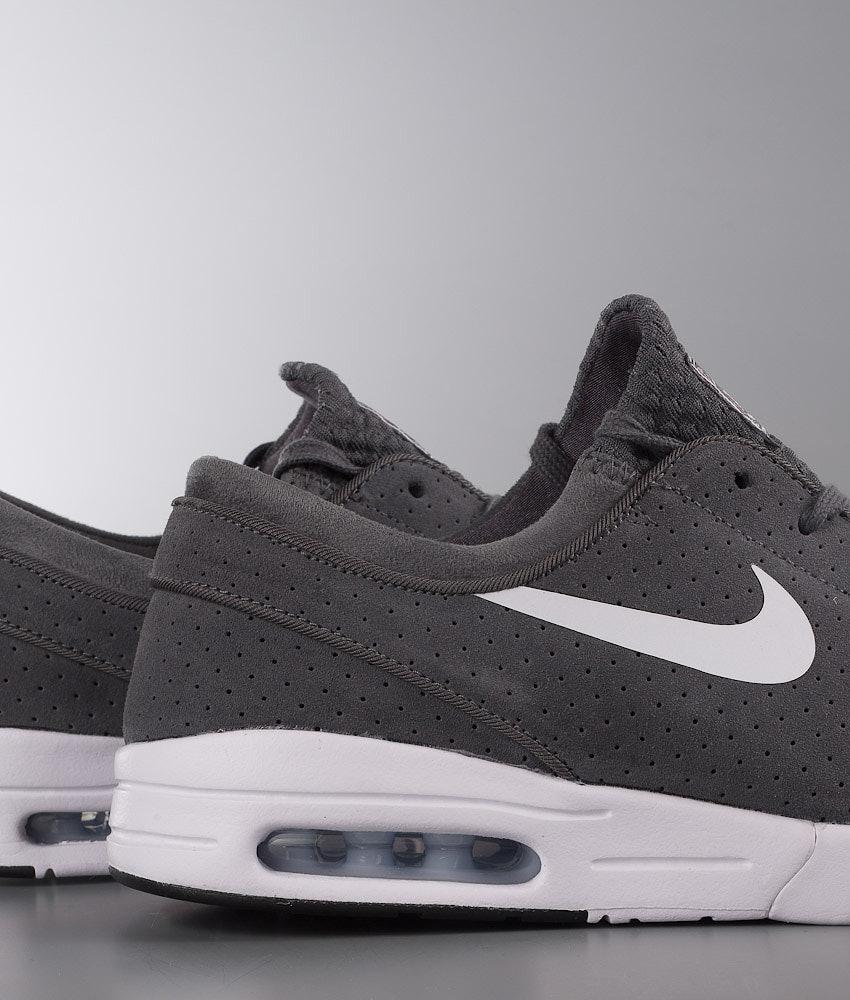 3751c535672 Nike Stefan Janoski Max L Schoenen Dark Grey/White-Black-White ...