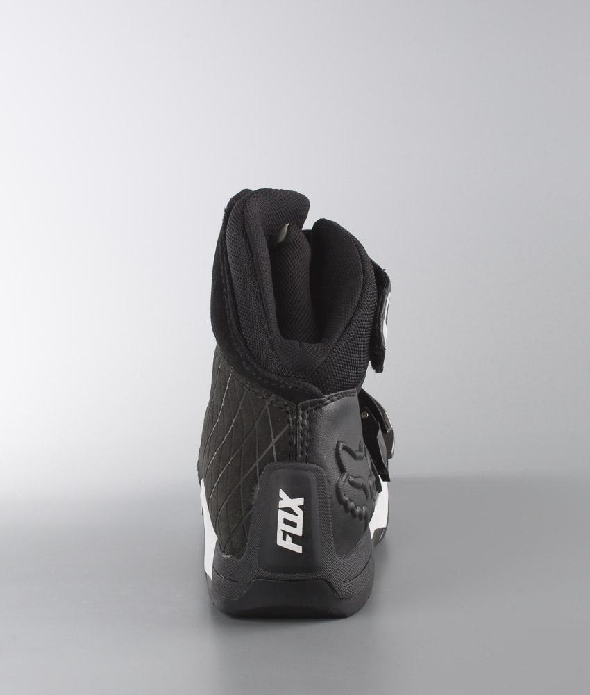 FoxBomber De Chez Chaussures Black Moto XOiPkulZwT