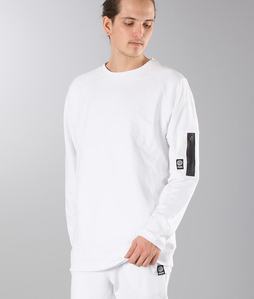 Dope Flight Sweater White
