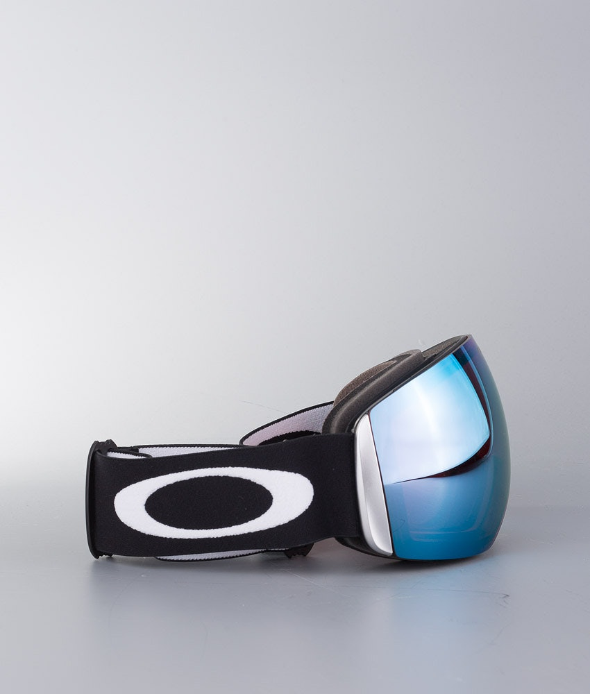 Oakley Flight Deck XL Skidglasögon Matte Black With Prizm Sapphire Iridium Lens