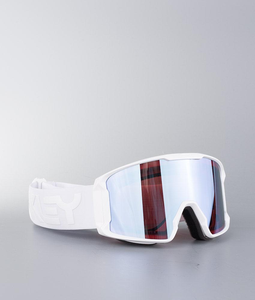 Oakley Line Miner Masque de ski Factory Pilot Whiteout W/ Prizm Sapphire Iridium