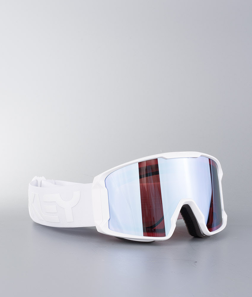 Oakley Line Miner Ski Goggle Factory Pilot Whiteout W/ Prizm Sapphire Iridium