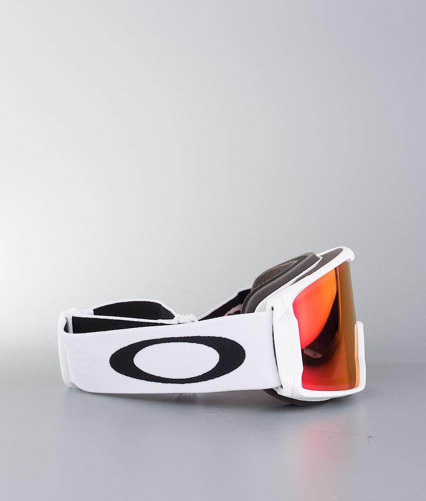 180908e330 Oakley Line Miner Ski Goggle Matte White W Prizm Torch - Ridestore.com