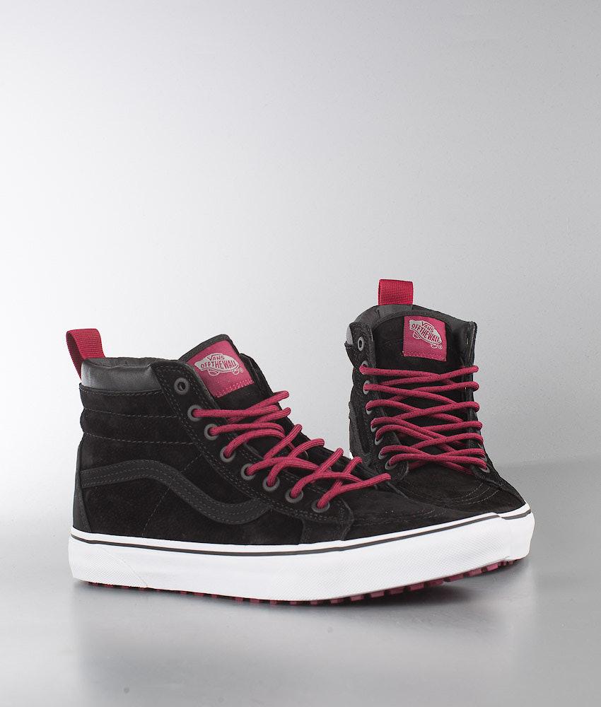 bb599ba19d49d2 Vans SK8-Hi MTE Shoes (MTE) Black Beet Red - Ridestore.com