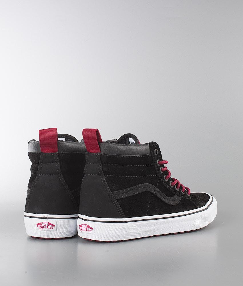0cf54e4295 Vans SK8-Hi MTE Shoes (MTE) Black Beet Red - Ridestore.com