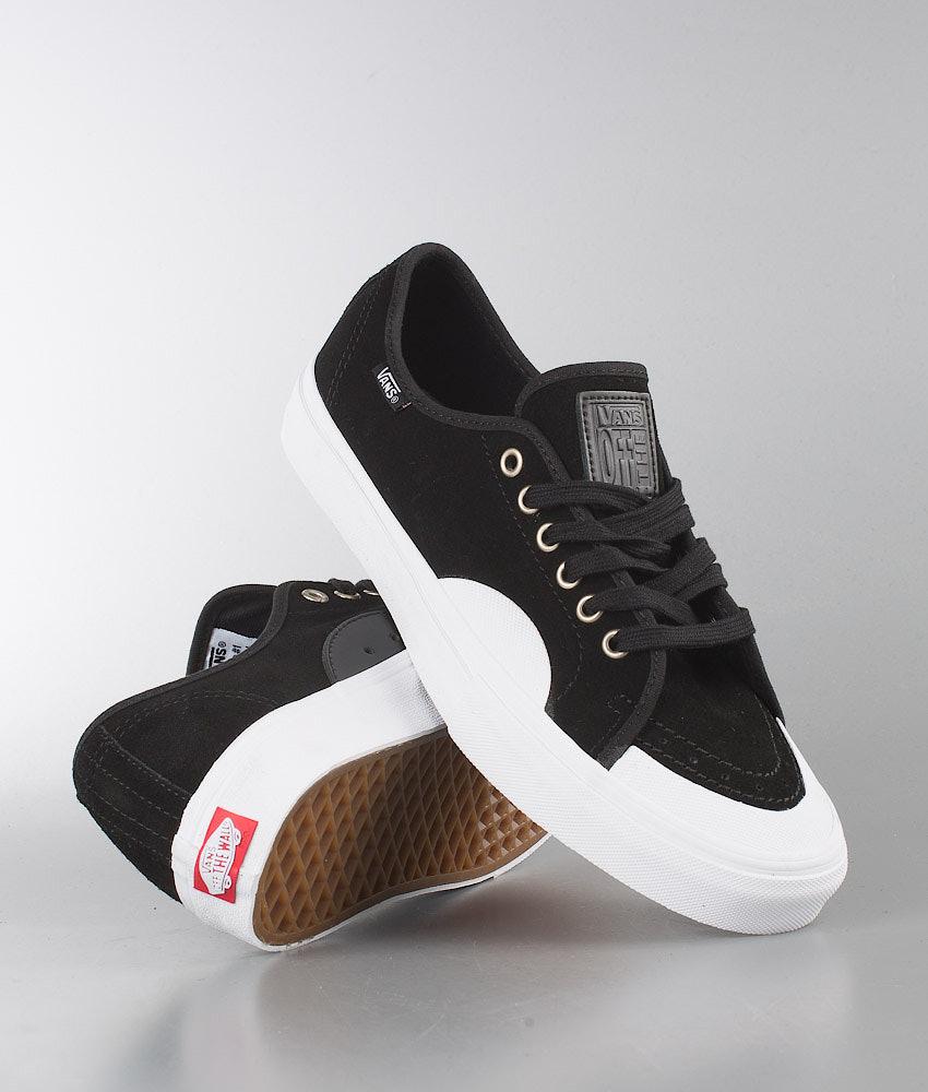 f10edf3712b Vans AV Classic Shoes (Rubber) Black White - Ridestore.com