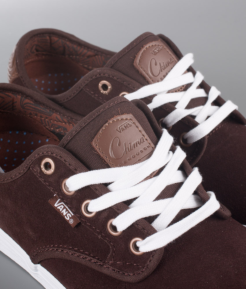 c02321e515f Vans Chima Ferguson Pro Shoes (Pacific Nw) Coffee Bean - Ridestore.com